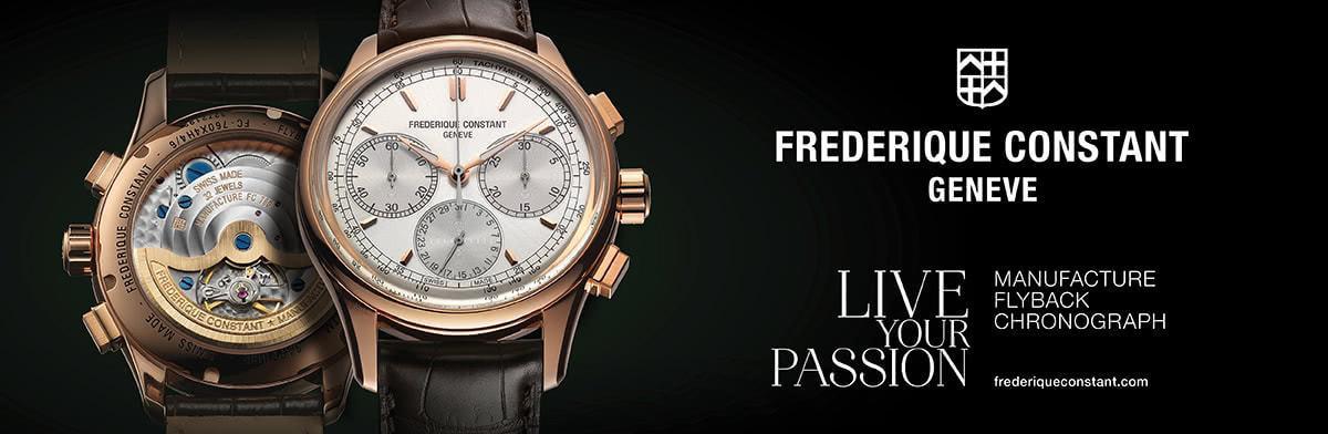 Lịch sử thương hiệu đồng hồ Frederique Constant