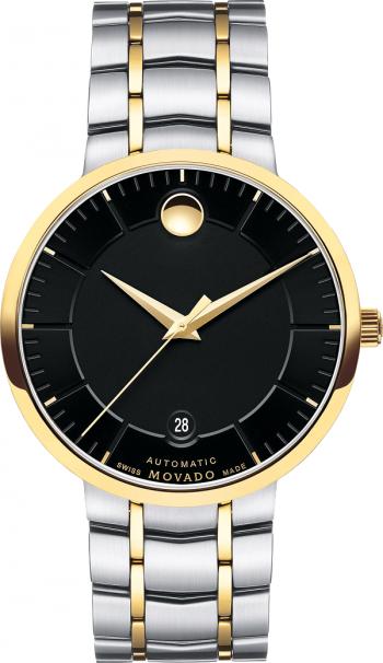 Đồng hồ Movado 0606916 Black Dial Two-tone